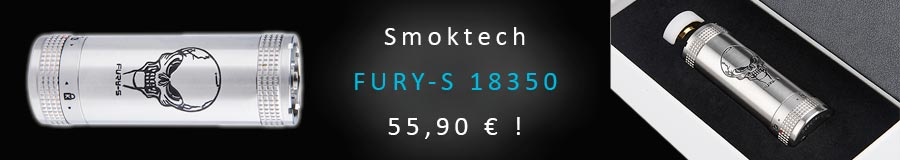 Destockage SmokTech Fury-S 18350 promotion mod cigarette électronique
